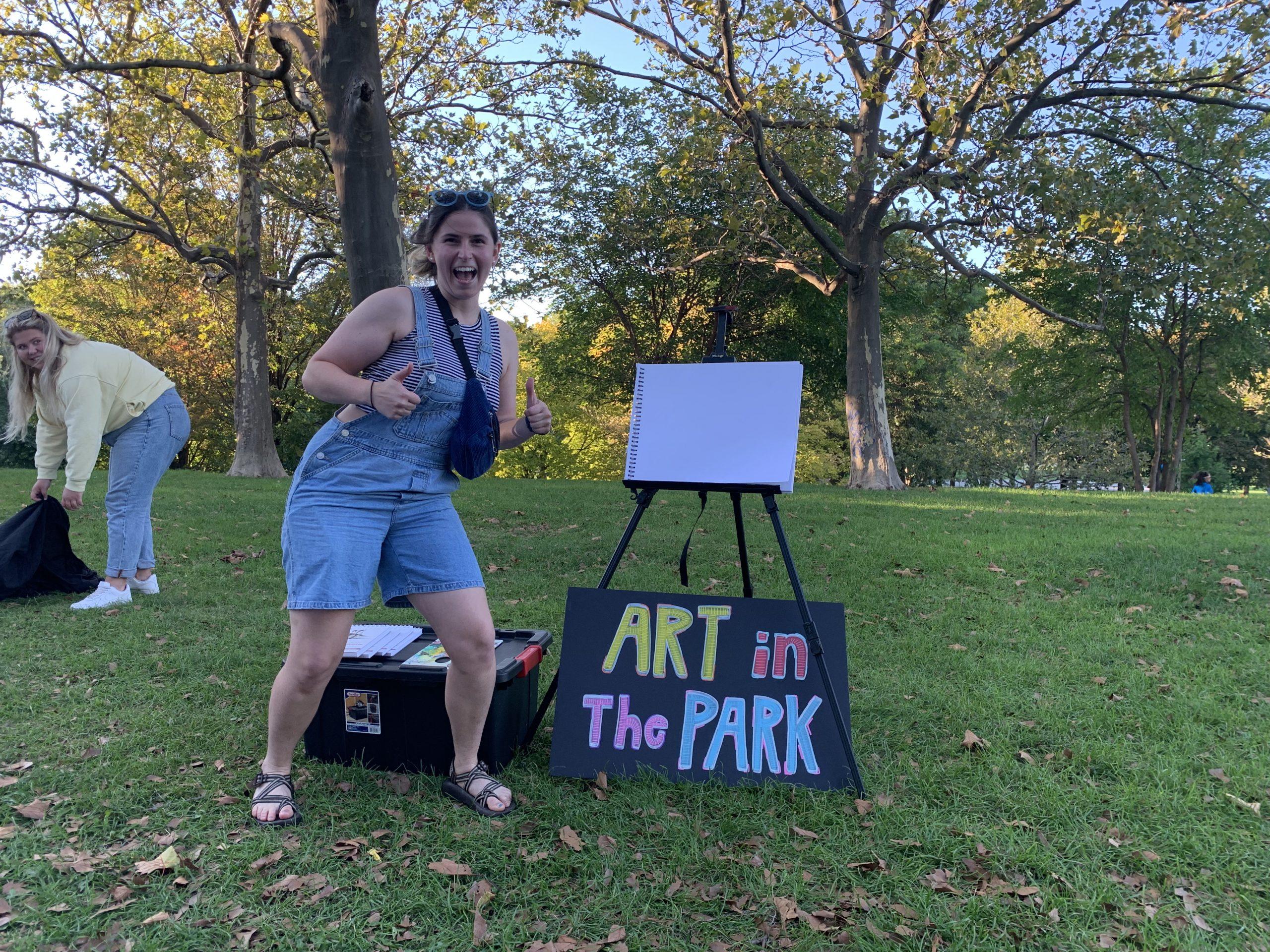 "Art In the Park Unlocks Gateway to ""Orange Suns"" & ""Dripping Plants"""